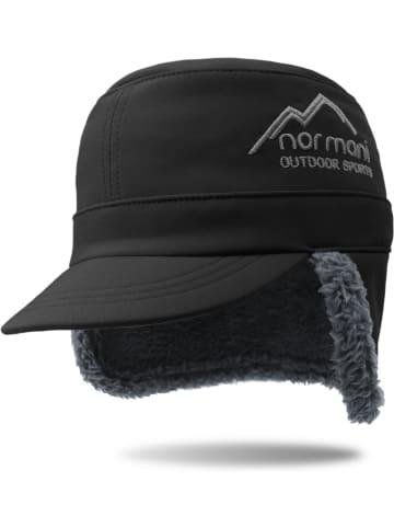 Normani Kinder Wintercap Snowfella Kids in Schwarz