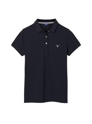 Gant Poloshirt in Schwarz