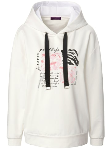 TALBOT RUNHOF X PETER HAHN Sweatshirt cotton in offwhite/multicolor