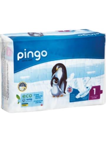 "Pingo BIO Windeln ""ultra soft"" NEWBORN Gr. 1 (2-5 kg) 27 Stück"