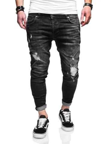 Behype Jeans ODIN in schwarz