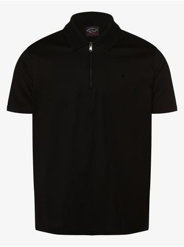 Paul & Shark Poloshirt in schwarz