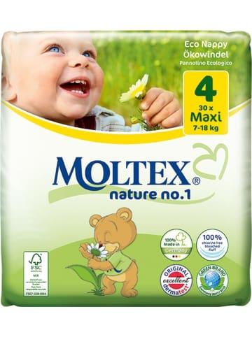 """MOLTEX Ökowindeln """"Nature No1"""" MAXI Gr. 4 (7-18 kg) 29 Stück"""