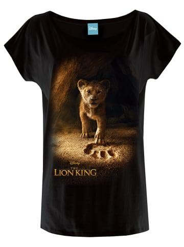 Disney König der Löwen Oversize-Shirt Little Lion in schwarz