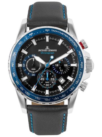 Jacques Lemans Herrenuhr Chronograph Liverpool Blau