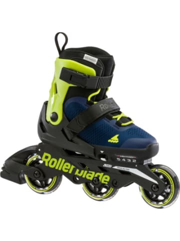 Rollerblade Inliner Microblade 3WD blue royal/lime