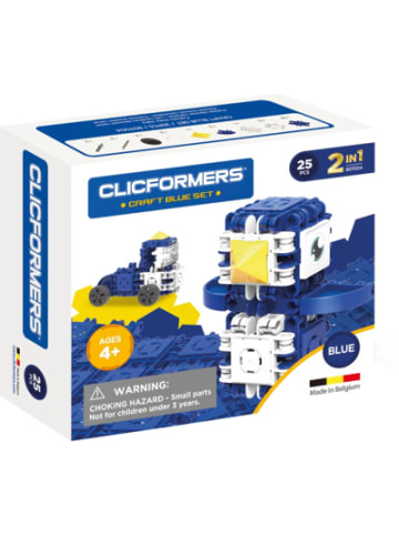 CLICFORMERS - Bastel-Set blau - 25 Stück