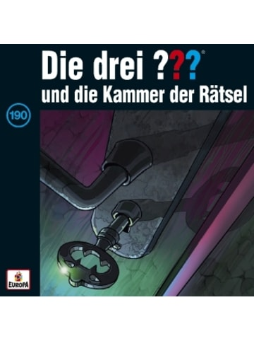 Sony Music Entertainment Die drei ??? und die Kammer der Rätsel, 1 Audio-CD