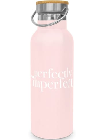 """Design@Home Edelstahl Isolier Flasche """"Perfectly Imperfect"""", 0,5l"""