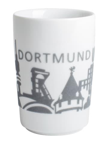 """KAHLA Becher """"touch!"""" Dortmund in Grau - 0,35 l"""
