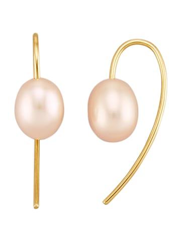 Diemer Perle Ohrringe in Weiß