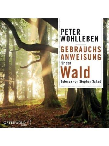 OSTERWOLDaudio Gebrauchsanweisung für den Wald, 6 Audio-CDs