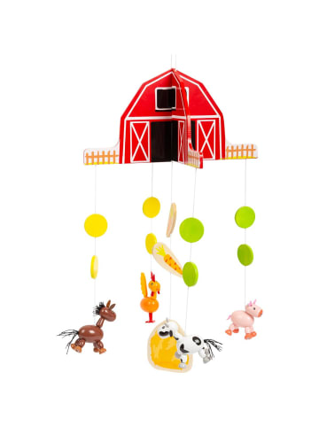 """Small foot Mobile """"Bauernhof"""" in rot"""