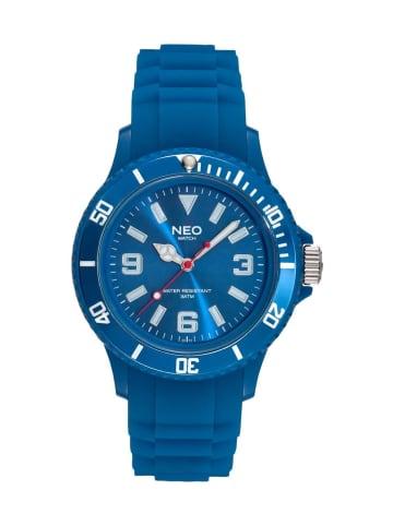 NEO Watch NEO Watch Armbanduhr aus Kunststoff in Blau