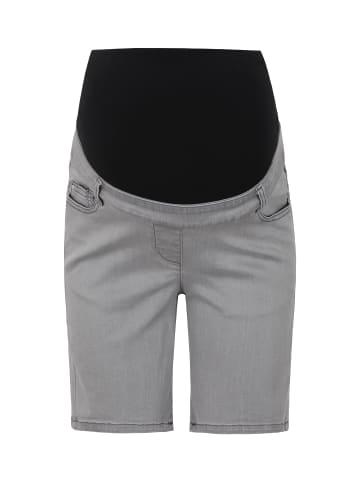 Bellybutton Umstandsbermuda Jeans in grey denim