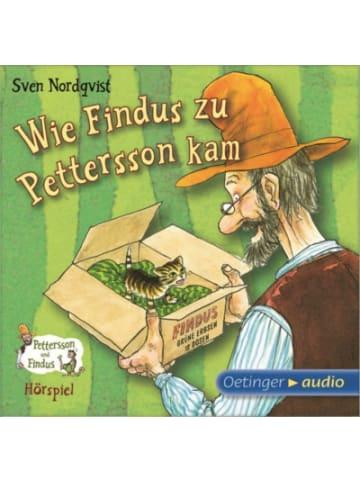 Pettersson und Findus Wie Findus zu Pettersson kam, Audio-CD