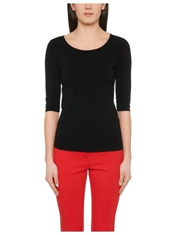 MARC CAIN 3/4 Shirts in schwarz