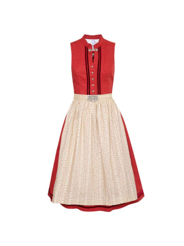 Gwandlalm Midi Dirndl in Bordeaux