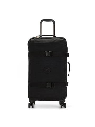 Kipling Basic Spontaneous M 4-Rollen Trolley 66 cm in black noir