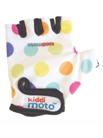 Kiddimoto Fahrradhandschuhe - Pastel Dotty / Pünktchen Bunt - M (4-8 jahre)