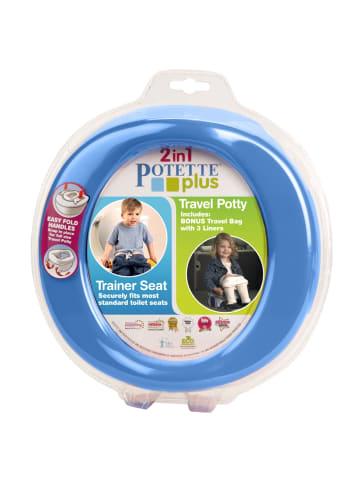 Potette 2in1 Potette Plus - das Reisetöpfchen inkl. WC-Sitz