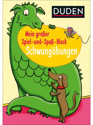 FISCHER Duden Duden: Mein großer Spiel-und Spaßblock: Schwungübungen