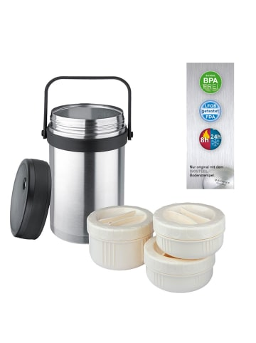 Isosteel Thermo-Foodbehälter 1,5 L in silver