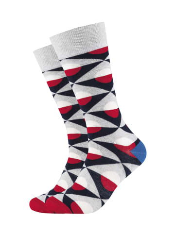 Fun Socks 2er-Pack Socken in Multicolor - 036 Heather