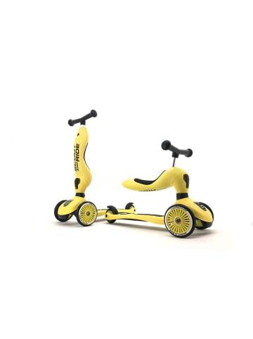 Scoot & Ride Highwaykick 1 - lemon in gelb