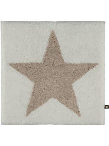 Rhomtuft Badteppiche STAR in weiß/stone - 1340