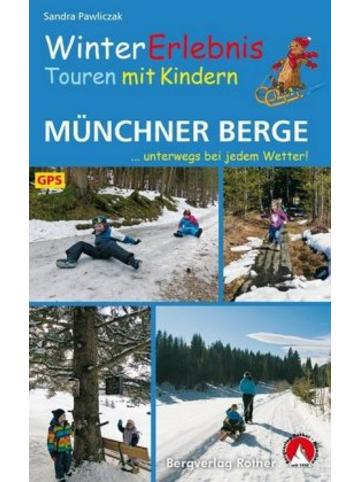 Bergverlag Rother WinterErlebnisTouren mit Kindern Münchner Berge