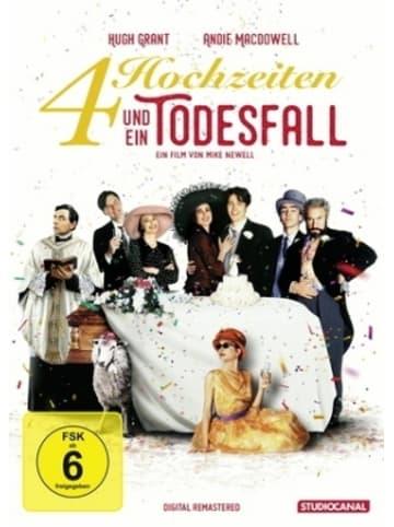 Studiocanal Vier Hochzeiten und ein Todesfall, 1 DVD (Digital Remastered)