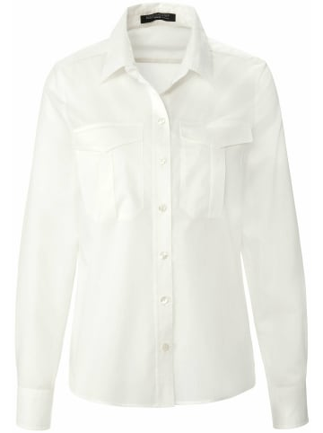 FADENMEISTER BERLIN Langarmbluse Bluse in offwhite