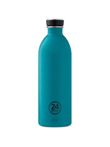24Bottles Earth Urban Trinkflasche 1000 ml in stone atlantic bay