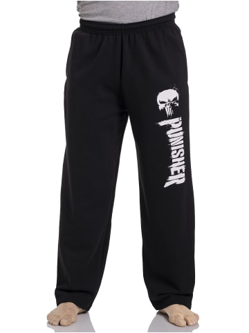 Marvel Jogginghose The Punisher Logo in schwarz