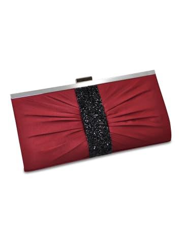 Steuer Modeschmuck Abendtasche in rot