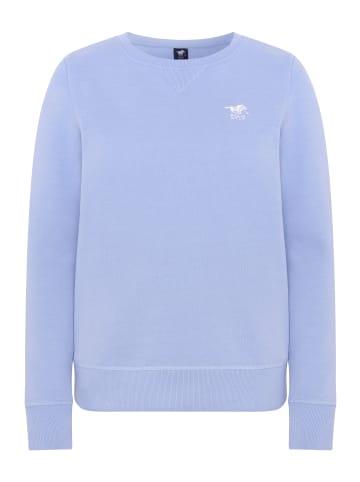 Polo Sylt Sweatshirt in Brunnera Blue