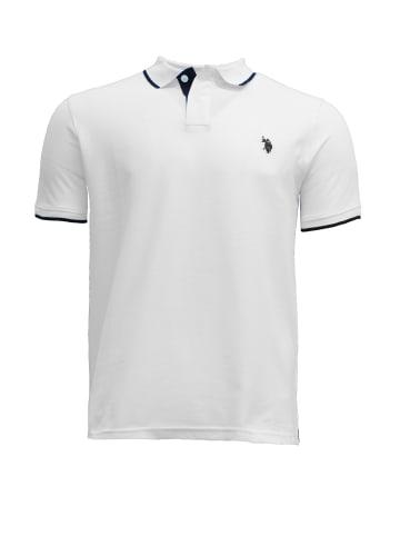 U.S. Polo Assn. Fashion Poloshirt in Weiß