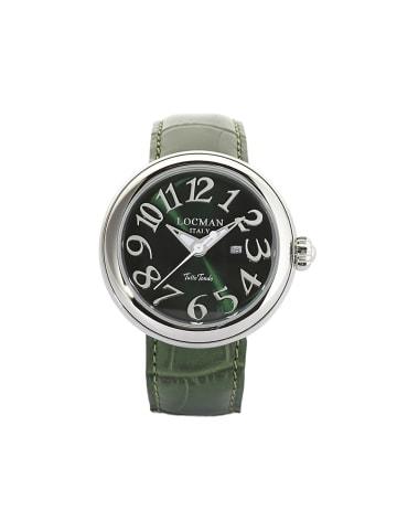 "Locman Damenuhr ""Tutto Tondo 0360"" in grün"
