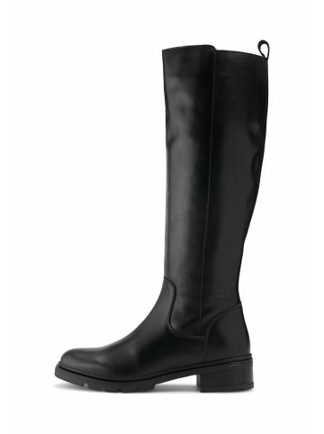 COX Klassische Stiefel Leder-Stiefel in schwarz