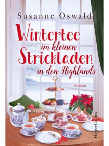 HarperCollins Wintertee im kleinen Strickladen in den Highlands