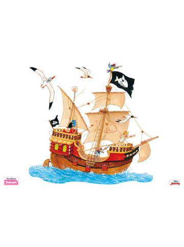 Beiwanda Wandsticker Capt'n Sharky Piratenschiff