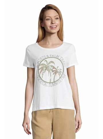 Betty Barclay Rundhals T-Shirt in creme