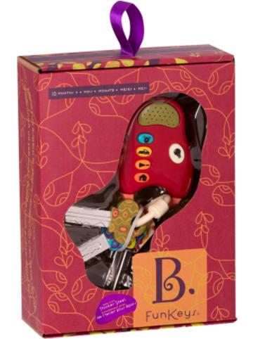 B.toys Fun Keys - Spielzeug-Schlüsselbund mit Geräuschfunktion