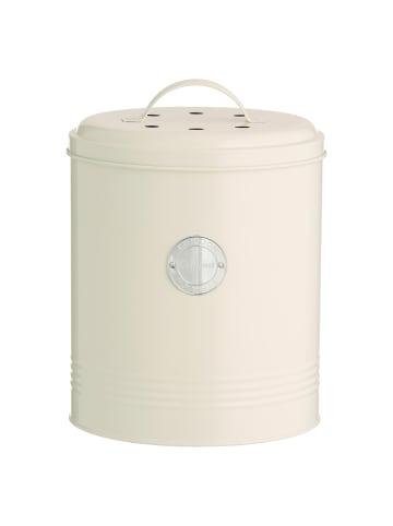 Typhoon Living - Kompostbehälter, pastellcreme, 2,5 Liter
