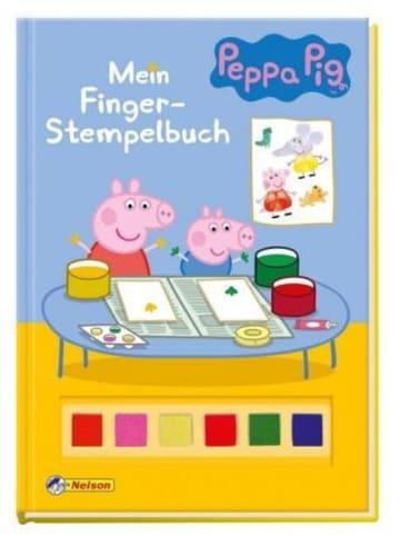 Nelson Peppa Pig: Mein Finger-Stempelbuch