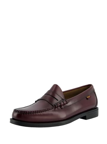 G.H. Bass & Co. Loafer Weejuns Larson II Moc Penny in Wine Leather