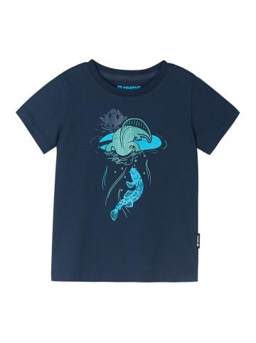 """Reima T-Shirt """" Ajatus """" in Navy"""