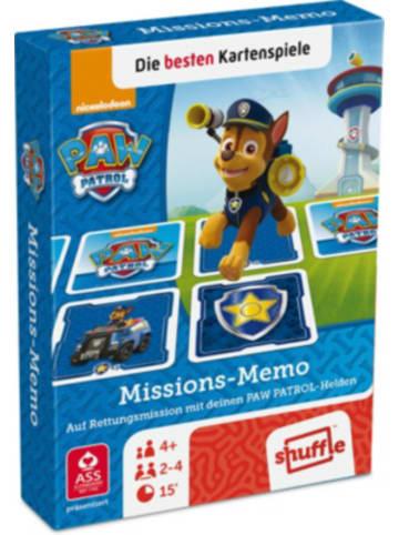 ASS Altenburger Spielkarten Paw Patrol - Missions Memo