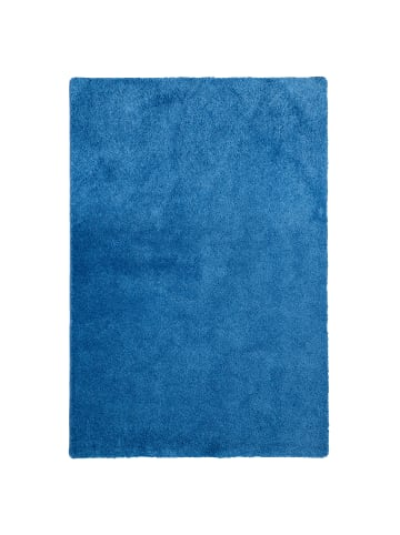 Snapstyle Hochflor Shaggy Teppich Palace in Blau